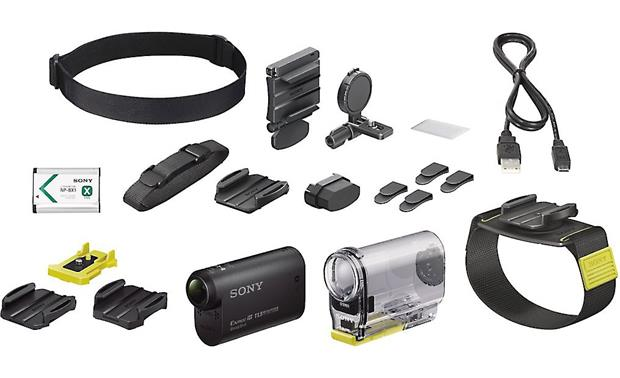 Sony HDR-AS30VW Action Camera Wearable Kit Front