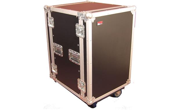 Gator G-TOUR 16U CAST Heavy-duty rolling case built for the road