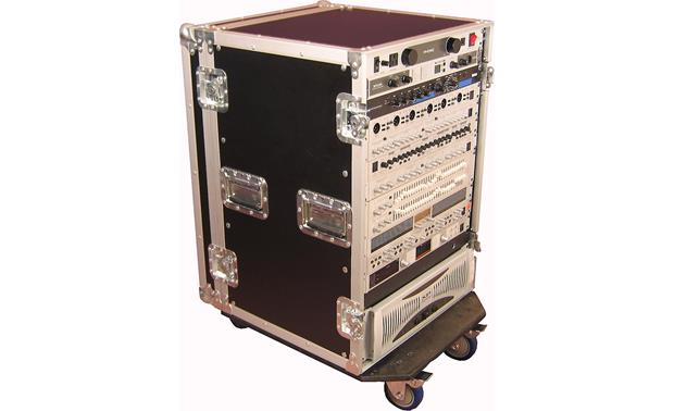 Gator G-TOUR 16U CAST 16 rack spaces for your pro audio gear