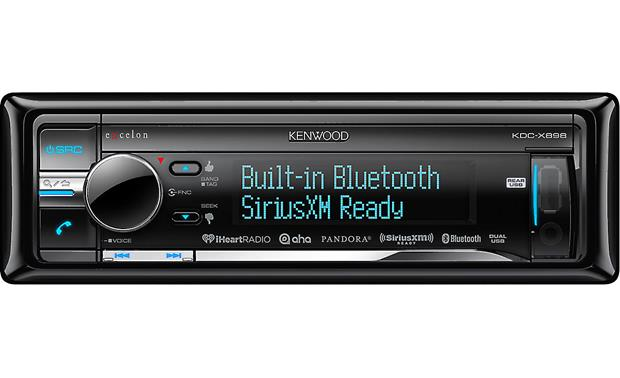Kenwood Excelon KDC-X898 Kenwood's KDC-X898 CD receiver offers Bluetooth® for hands-free calling and audio streaming