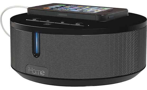 iHome iBN26 BT Black/Grey (smartphone and charging cable not included)