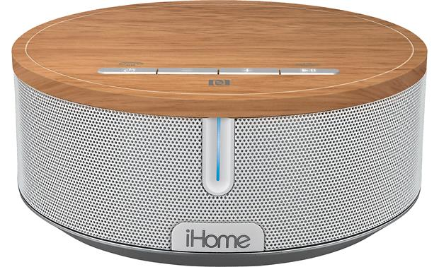 iHome iBN26 BT White/Oak