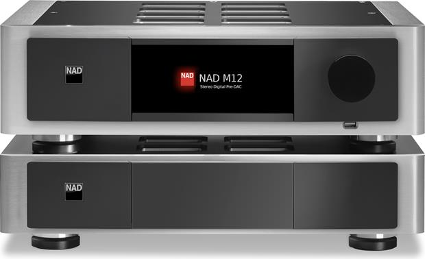 NAD Masters Series M12 Shown with the NAD M22 stereo power amp (not included)