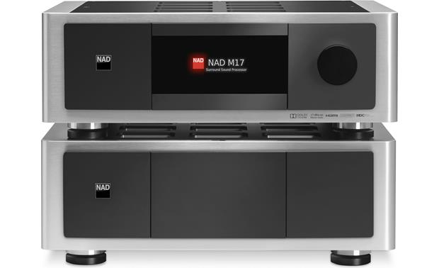 NAD Masters Series M27 Shown with NAD M17 preamp/processor (not included)
