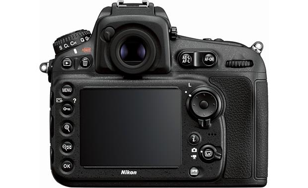 Nikon D810 (no lens included) Back
