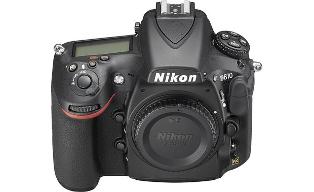 Nikon D810 (no lens included) Front with body cap in place