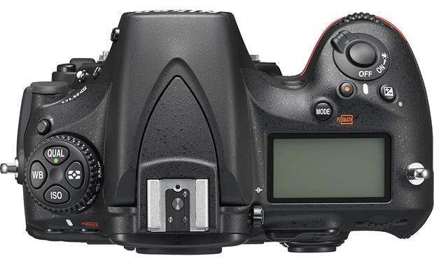 Nikon D810 (no lens included) Top
