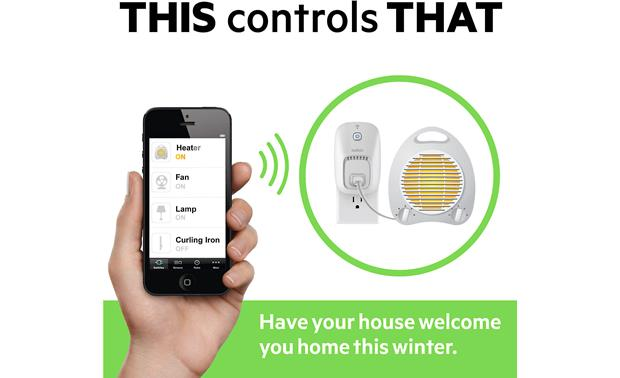 Belkin Wemo® Switch + Motion Kit Anything you can plug in, you can control with your smart phone or tablet