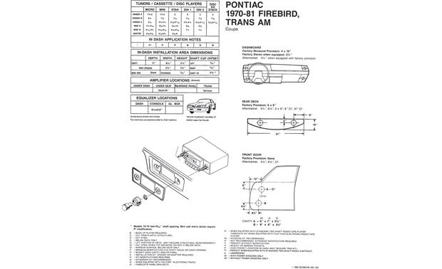 [SCHEMATICS_4FD]  Scosche Installation Instructions Vehicle-specific instructions for  removing factory radio and speakers at Crutchfield | Scosche Wiring Diagrams |  | Crutchfield