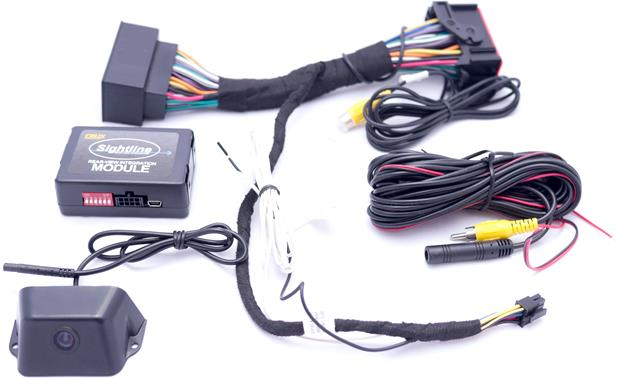 Crux RVCCH75CC Backup Camera System Add a rearview camera to – Jeep Backup Camera Wiring Diagram
