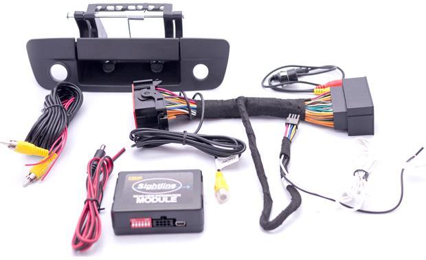 crux rvcch 75dc backup camera system add a rear view camera to your rh crutchfield com 2012 Ram Backup Camera 2013 Ram Backup Camera Kit