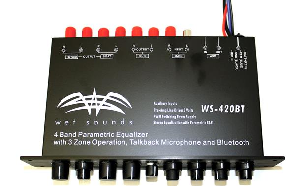 Wet Sounds WS-420 BT Top view