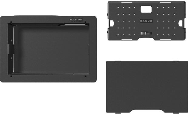 Sanus SA809 Includes a cover and cable management system