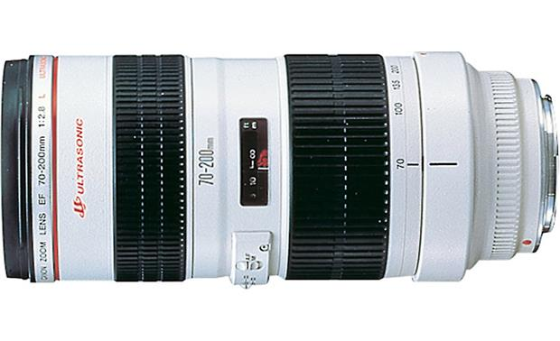 Canon EF 70-200mm f/2.8L USM Side view