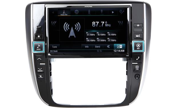 Alpine X009-GM In-Dash Restyle System Other