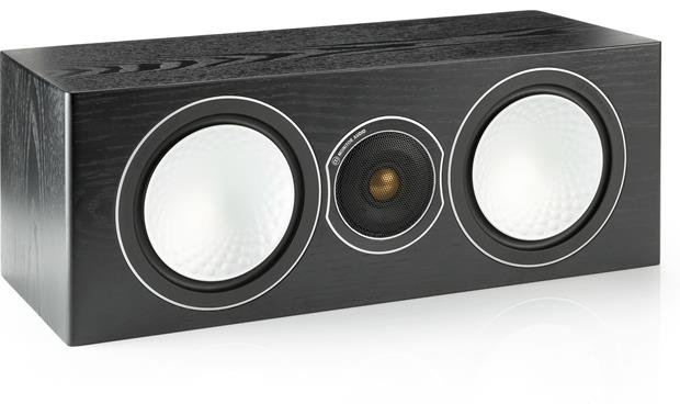 Monitor Audio Silver Center Black Oak (grille included, not shown)