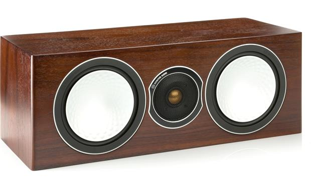 Monitor Audio Silver Center Walnut (grille included, not shown)