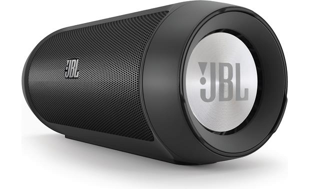 JBL Charge 2 Black -right front view
