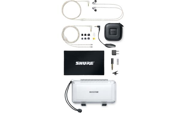 Shure SE846 Shown with included accessories