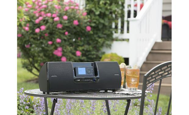 SiriusXM SXSD2 Portable Speaker Dock Take it outdoors