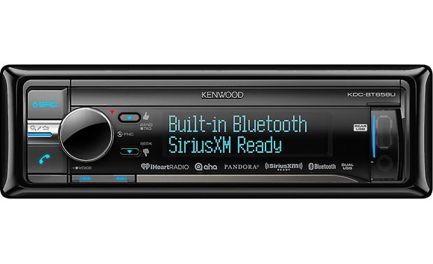 Kenwood KDC-BT858U Enjoy an easy-to-read display and built-in Bluetooth for hands-free calling and audio streaming