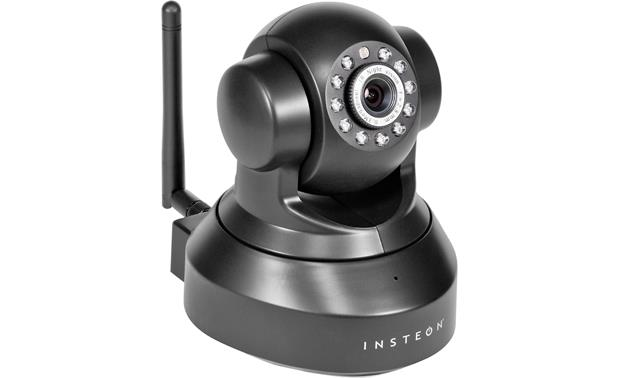 INSTEON Indoor Camera (Black) Wireless security camera at ...