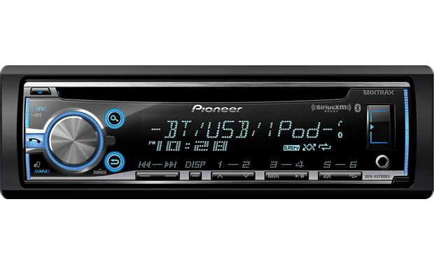 pioneer deh x6700bs cd receiver at crutchfield com