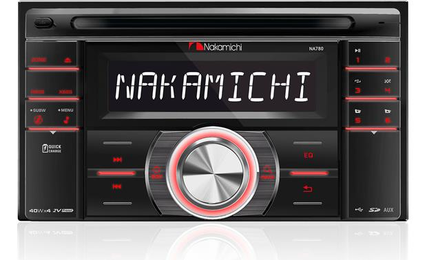 Nakamichi NA780 This double-DIN radio includes a detachable faceplate