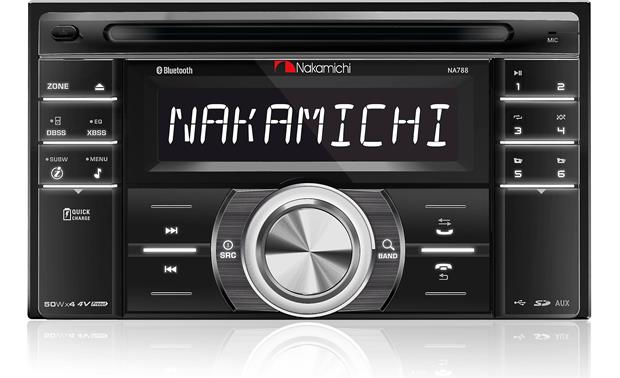Nakamichi NA788 Enjoy a music hub including Bluetooth®, a USB port, an SD card slot, iPod controls, and 8 EQ presets