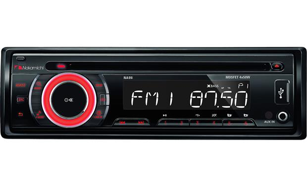Nakamichi NA99i Enjoy your CDs, AM/FM radio, USB flash drives, or a portable music player