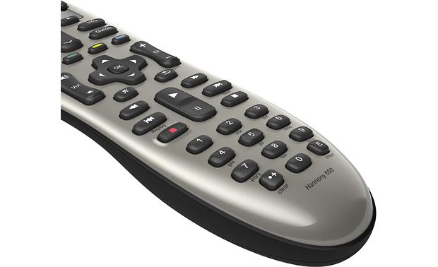 Logitech® Harmony® 650 Control buttons detail