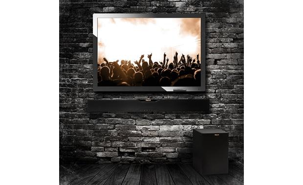 Klipsch Reference R-10B Sound bar is wall-mountable