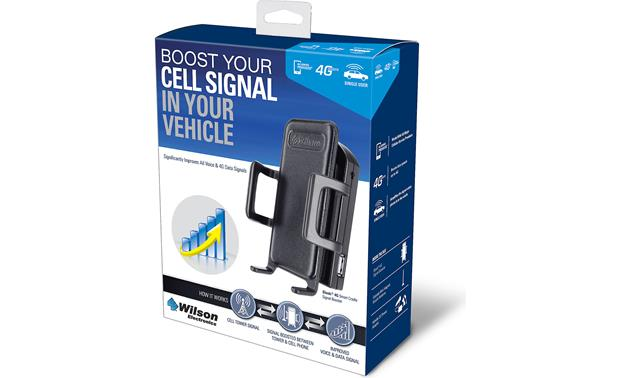 Wilson Sleek 4G Cell phone signal booster and cradle at