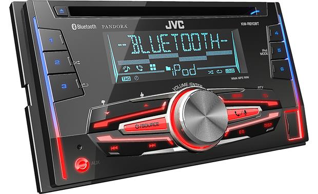 JVC KW-R910BT Variable color display