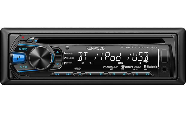 Kenwood KDC-BT318U Enjoy hands-free calling and audio streaming using the built-in Bluetooth technology