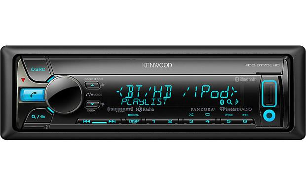 Kenwood KDC-BT758HD Choose from HD Radio, Bluetooth, USB, CD, or SiriusXM for your music fix