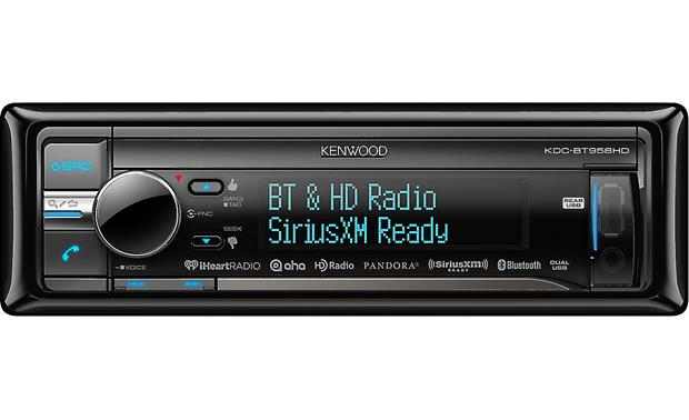 Kenwood KDC-BT958HD Check out the info on all your music using the colorful multi-line display