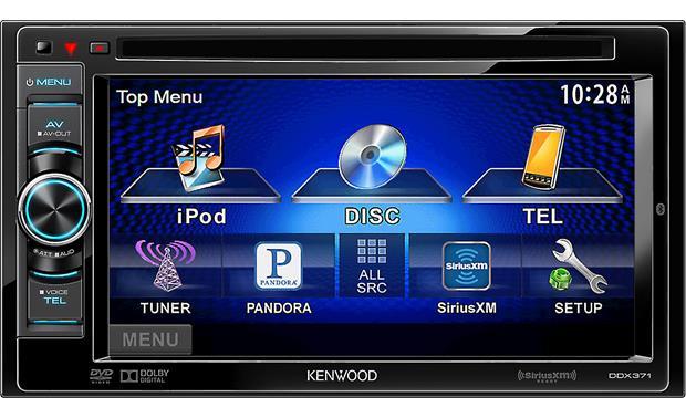Kenwood Ddx371 Dvd Receiver At Crutchfield Com