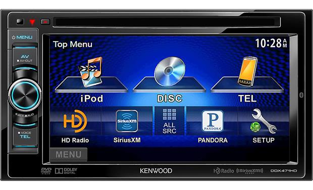 Kenwood DDX471HD Front