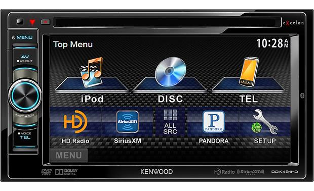 Kenwood Excelon DDX491HD Front