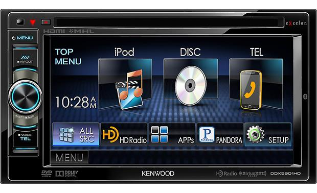 Kenwood Excelon DDX5901HD Front