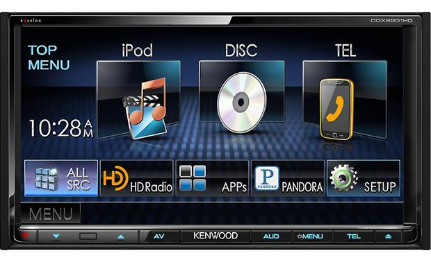 Kenwood Excelon DDX8901HD Front