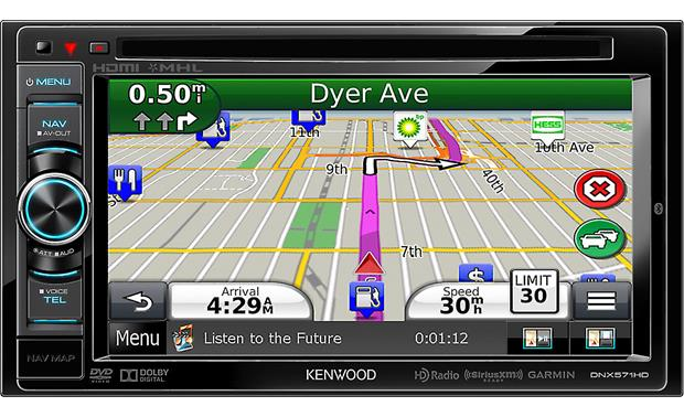 Kenwood DNX571HD Front