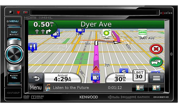 Kenwood Excelon DNX691HD Front