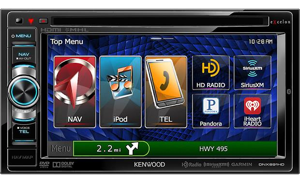 Kenwood Excelon DNX691HD Other