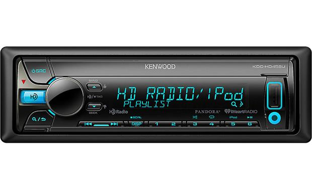 Kenwood KDC-HD458U Enjoy crystal-clear HD radio, CDs, or WAV, WMA, and MP3 music files using the USB port