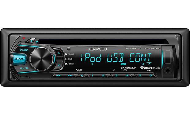 Kenwood KDC-258U Change the colors on the KDC-258U receiver's display to match your interior