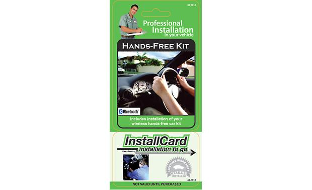 InstallCard: Hands-Free Car Kit Front