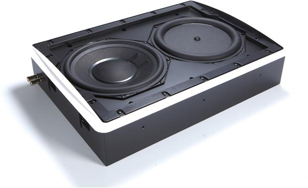 Definitive Technology IWSub 10/10 Subwoofer enclosure (Angled side view without grille)