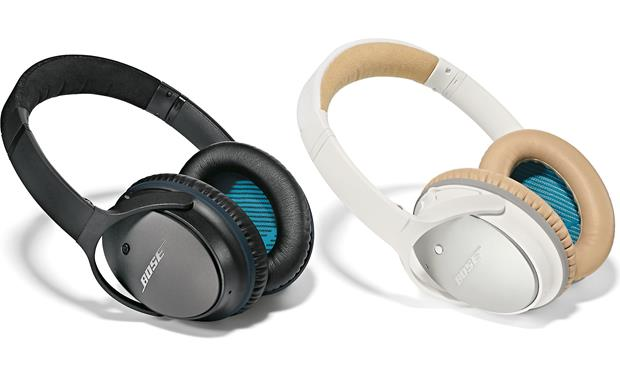 Bose® QuietComfort® 25 Acoustic Noise Cancelling® headphones for Apple® devices Available in Black and White